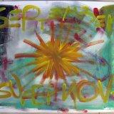 september supernova (70x50, acryl auf karton, mrz9)