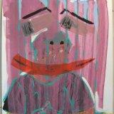 selbstbildnis (50x70, acryl auf karton, mrz9)
