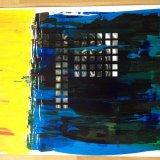 die prim (70x50, acryl auf karton, collage, apr12)