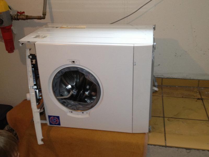 Die Waschmaschine, viele Fotos und eine späte Entdeckung  # Waschmaschine Nachts