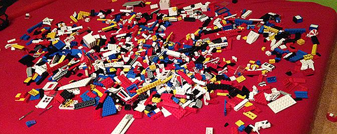 Lego wie in den 70ern