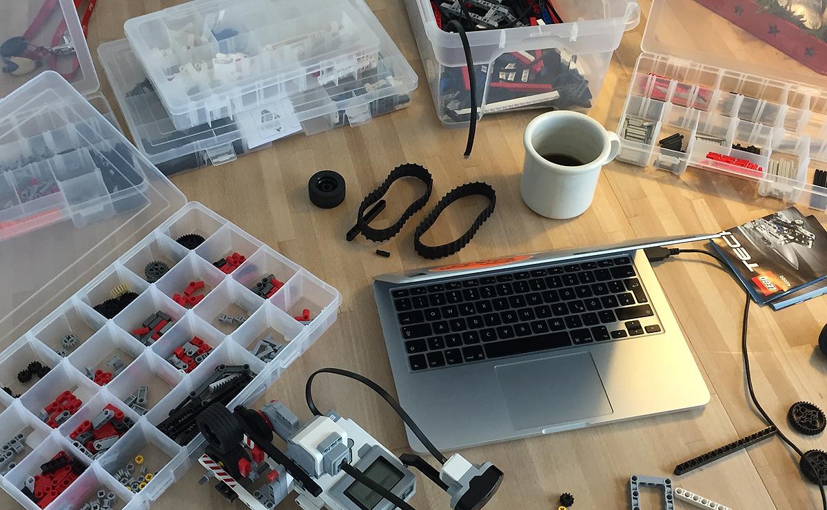 Lego Mindstorms EV3 // Stringpuller