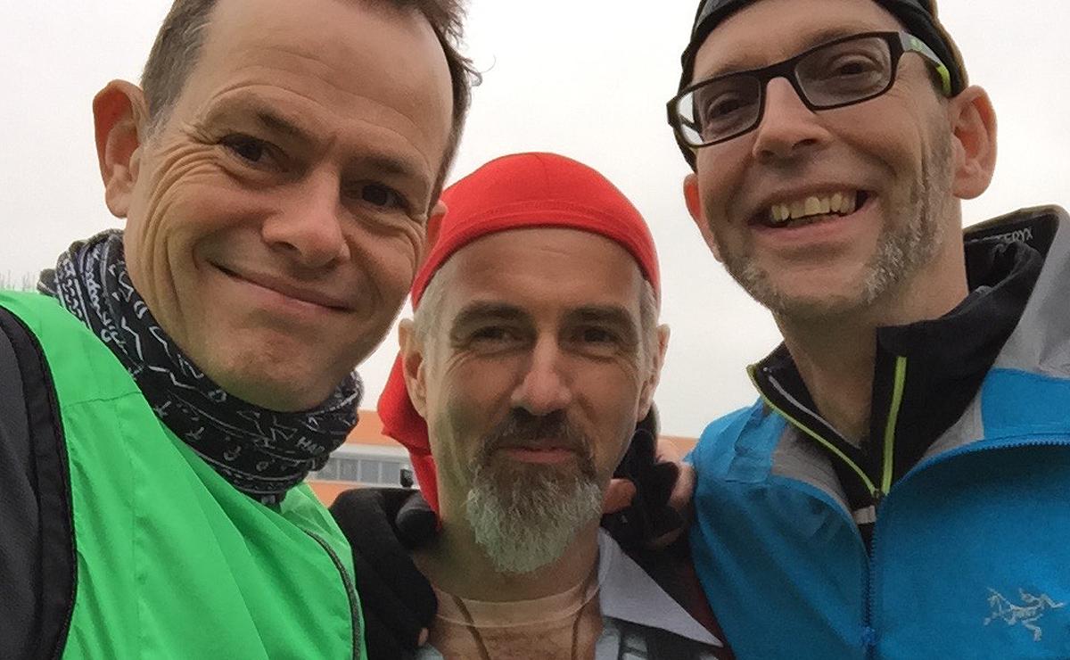 Drei Hasen: Stefan, Dirk und Jan