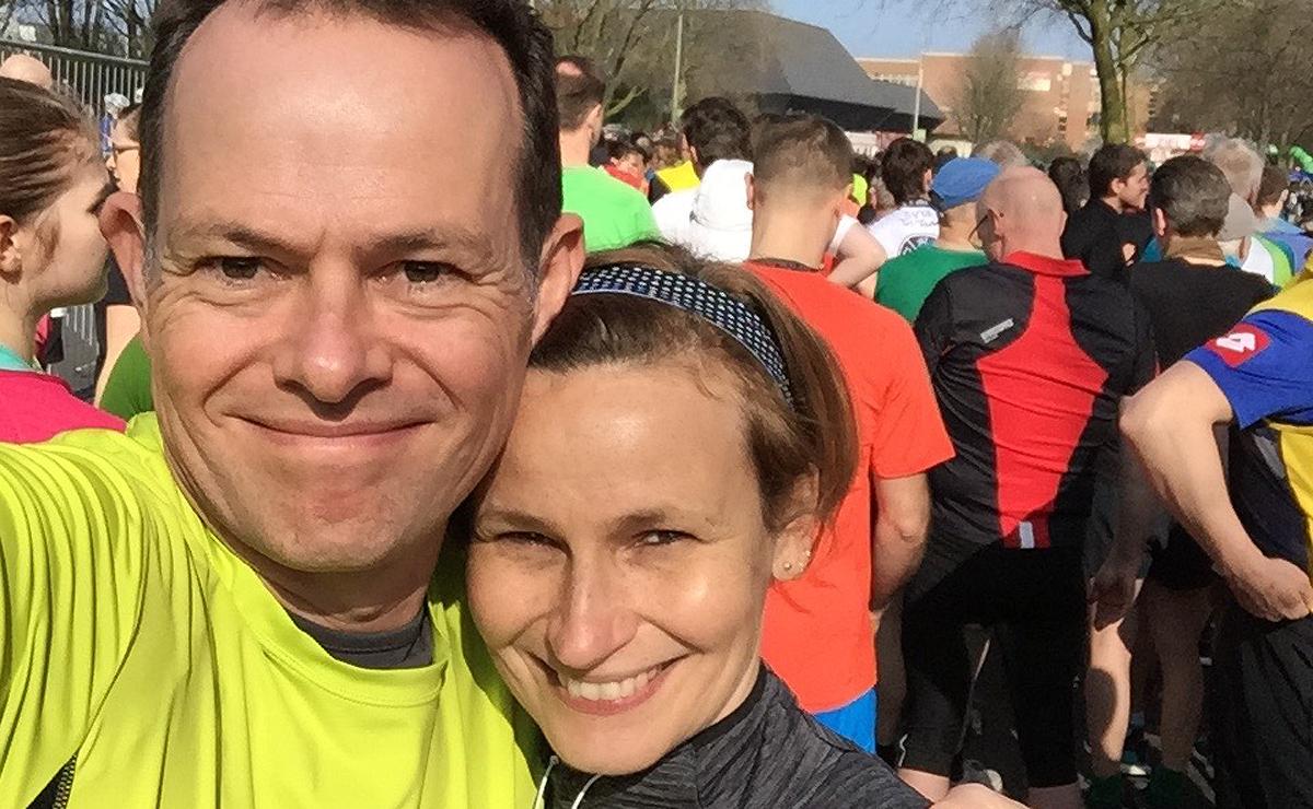 Gemeinsam sind wir ein Marathon. Fragen?