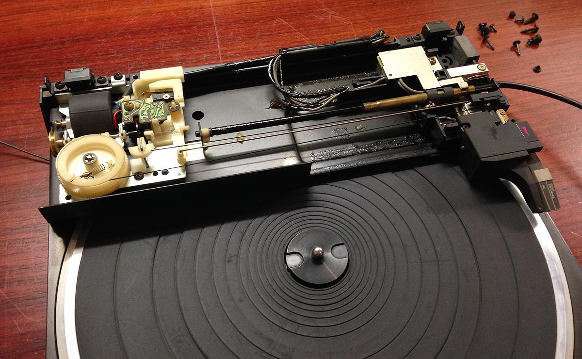 Mein zerlegter Technics SL-J3