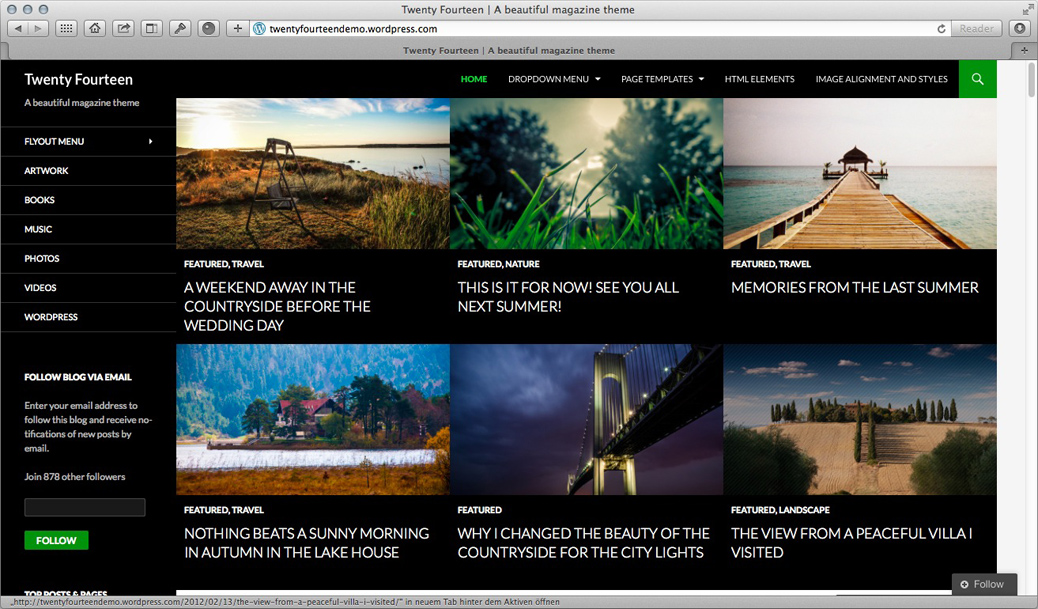 WordPress Theme - Twentyfourteen