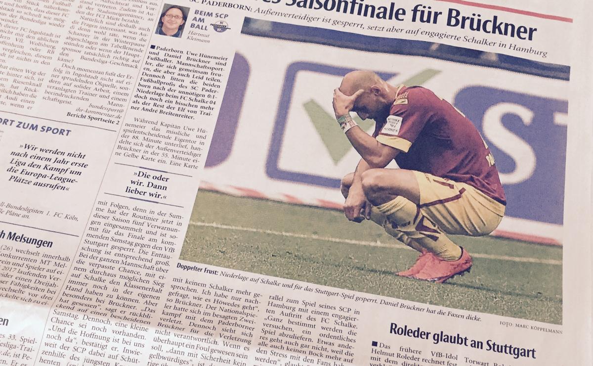 Daniel Brücker, Fußballgott!
