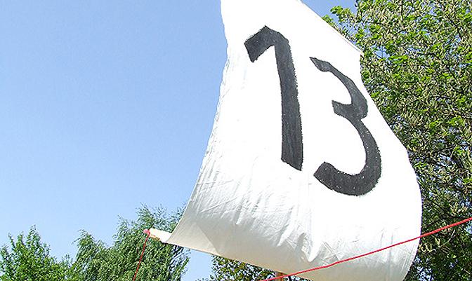 Die schwarze 13