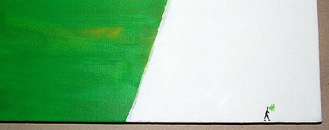 quadrant iv / detail (100x70, acryl, dez8)