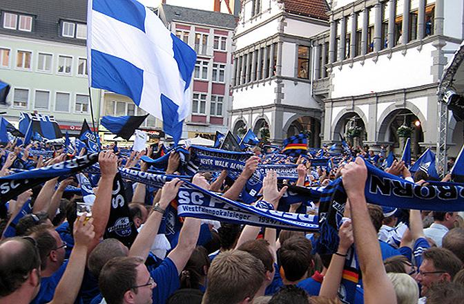 Aufstieg in die 2. Bundesliga des SC Paderborn 07